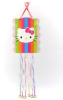 Funcart Hello Kitty Pull String Pinata (Multicolor, Pack Of 1)