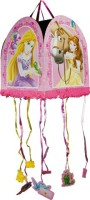 Disney Princess And Animals Pull String Pinata (Multicolor, Pack Of 1)