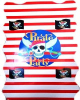 Theme My Party Pirate Pull String Pinata (Multicolor, Pack Of 1)