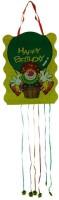 Smartcraft Happy Birthday -Joker Pull String Pinata (Multicolor, Pack Of 1)