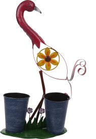 Wonderland Bird With Pot Plant Container