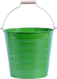 Mango Orchard Hanging Small Bucket ( Dark Green) Plant Container