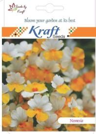 Kraft Seeds Nemesia Strumosa Carnival Mix [Pack Of 2] Seed