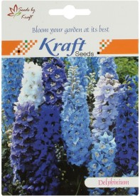 Kraft Seeds Delphinium Imperial Choice Mix Flower Seed