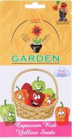 Gate Garden Capsicum / Bell Pepper Seeds Kids Block Seed