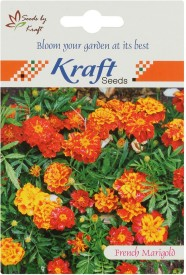 Kraft Seeds French Marigold Sparky Mix Flower (Pack Of 5) Seed