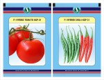 Sungro Seeds Limited Hybrid Tomato and Chilli Seeds Combo Pack