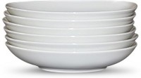 Schönwald Solid Porcelain Dish Set (White, Pack Of 6)