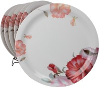 White Gold Dynasty Printed Melamine Plate Set (White, Pack Of 6) - PTDE7RWGYVWASUJ4