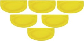 Delite Solid Plastic Plate Set