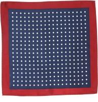 Roar and Growl Polka Dots Silk Pocket Square