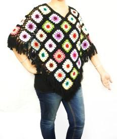 Excel Crafts Woollen Poncho