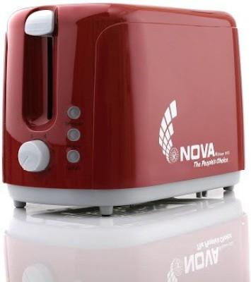 Nova NBT 2308 750 W Pop Up Toaster (Red)