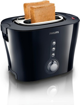 Philips HD2630/20 1000 W Pop Up Toaster (Black)