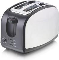 Kraft Toastpro 700 W Pop Up Toaster (White And Black)