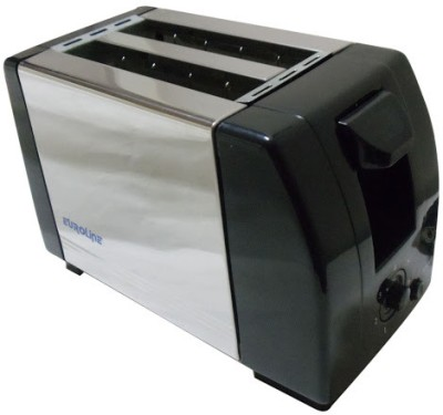 Euroline Pop-Up Toaster 2 Slice (SS BODY) 750 W Pop Up Toaster