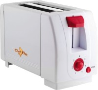 ChefPro Compact Design With 7 Browning Settings 750 W Pop Up Toaster (White)