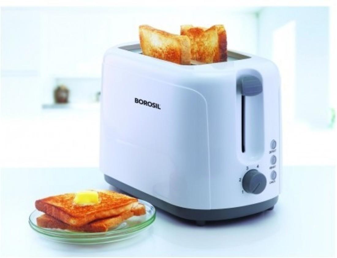 Borosil BTO750WPW11 750 W Pop Up Toaster