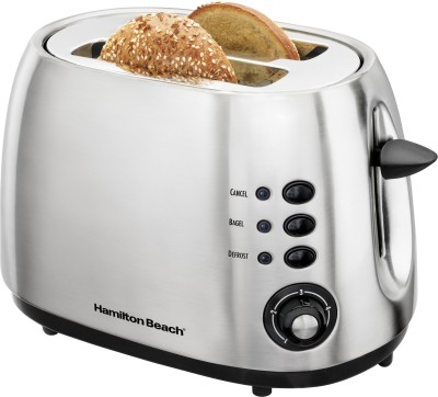 Hamilton Beach Modern Brushed Toaster 22504 900 W Pop Up Toaster
