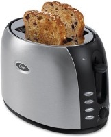 Oster TSSTJCBBK 800 W Pop Up Toaster (Silver And Black)