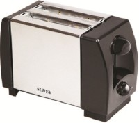 Surya TOAST-O 750 W Pop Up Toaster (Silver, Black)
