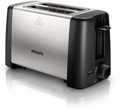 Philips HD4825/91 800 W Pop Up Toaster (Black)