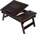 Hubberholme Engineered Wood Portable Laptop Table (Finish Color - Wenge)