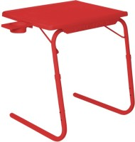 IBS ADJUSTABLE FOLDING KIDS MATE HOME OFFICE READING WRITING STUDY RED TABLEMATE WITH CUPHOLDER Plastic Portable Laptop Table (Finish Color - Red) - PLLEGYVCPHFHDNMF