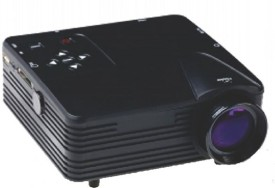 Lucem 80 lm LED Corded Portable Projector