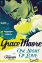 One Night Of Love - Swedish - 1934 Paper Print - Medium, Rolled