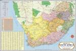 Vidya Chitr Prakashan Posters South Africa Map Paper Print
