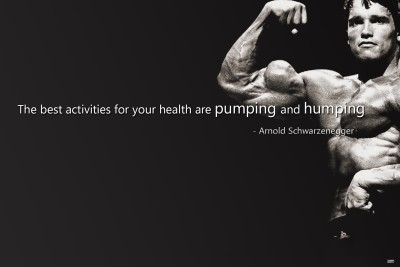 Mukul Collection Posters Arnold The Quotes Paper Print