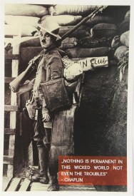 Chaplin - Nothing is Permanent Paper Print