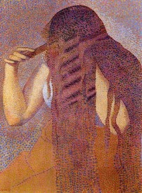 The Museum Outlet Woman Combing Her Hair, 1892 (Medium) Canvas Painting