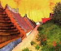 Street In Saintes-Maries Small By Van Gogh Fine Art Print - Small