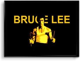 Bruce Lee Canvas Art