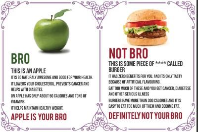 Posterhouzz Posters Posterhouzz Bro Not Bro, Health Benefits Paper Print