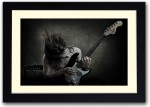 Artifa Posters Guitar Player Fine Art Print