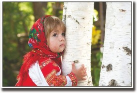 Athah Poster Girl hugging tree Paper Print (12 inch X 18 inch, Rolled) Paper Print