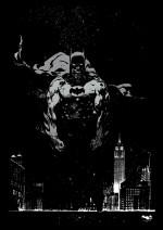 Posterhouzz Posters Posterhouzz Poster Batman the Dark Knight's Rage Paper Print