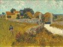 Farmhouse In Provence By Van Gogh Fine Art Print - Medium