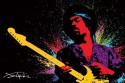 Limi Hendrix (Paint) Poster - Medium