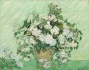 Roses By Vincent Van Gogh Fine Art Print - Large