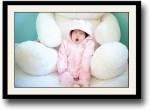 Artifa Posters Cute Baby yawning Fine Art Print