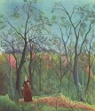 A Walk In The Forest By Henri Rousseau Fine Art Print - Medium