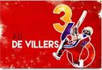 ShopMantra Posters AB DE Villiers Mr.360 Laminated Poster Paper Print