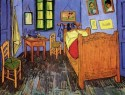 Vincent's Bedroom In Arles Medium By Van Gogh Canvas - Medium