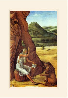 Jerome in the Desert Fine Art Print