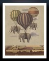 Flight Of The Elephants Fine Art Print - Medium
