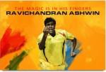 ShopMantra Posters ravichandran Ashwin Magical Fingers Laminated Poster Paper Print